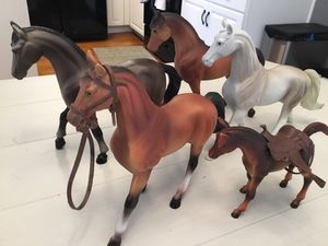 Cute Collectible Plastic Horses for Display or Play for Sale in Goodlettsville, TN