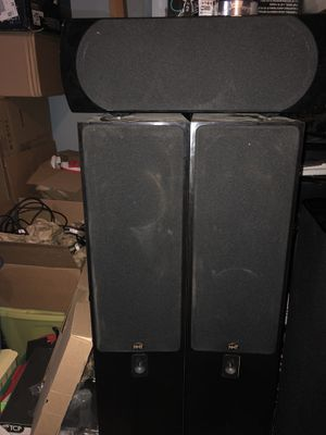 NHT VT 2.4 towers and Two C center channel speaker for Sale for sale  Branchburg, NJ