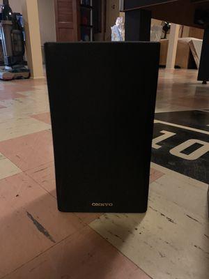 Set of 4 onkyo speakers for Sale in Livonia, MI