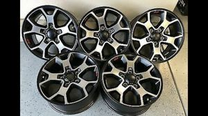 """17"""" Jeep Wrangler Rubicon Factory wheels for Sale in San Diego, CA"""
