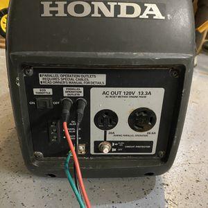 Honda 2000 companion Generator for Sale in Olympia, WA