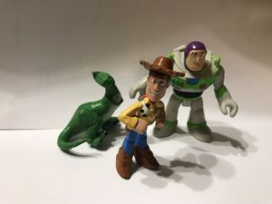 3 Toy Story Figures for Sale in Akron, OH