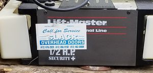 Garage Door Opener LIFTMASTER 1/2 HP for Sale in White Oak, PA