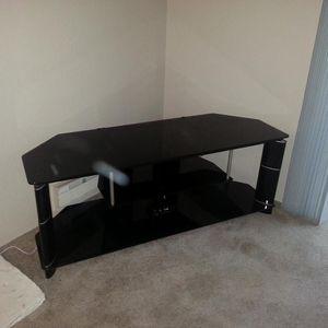 Corner Glass TV Stand for Sale in Everett, WA