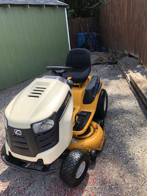 Cub cadet riding lawn mower and utility cart for Sale in Buckley, WA