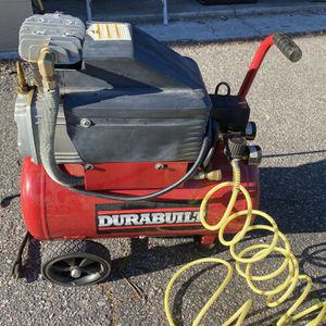 Durabuilt 6galloon 140psi Compressor for Sale in Portsmouth, VA