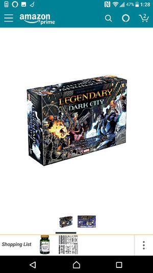 Marvel Legendary dark city board game for Sale in Houston, TX