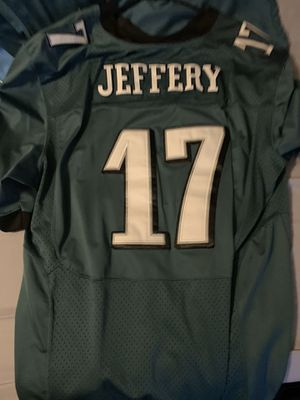 3XL Stitched Alston Jeffery Jersey with Super Bowl Patch for Sale in Horsham, PA