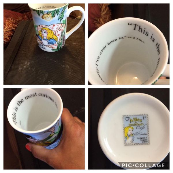 VGUC Alice in Wonderland Collector's Cup $6. Walgreens Oakland Canada rd wolfchase Kirby whitten and stage once a week-cp