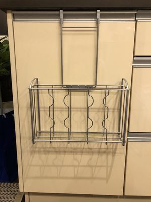 Over the cabinet door organizer - $8 for Sale in Chicago, IL