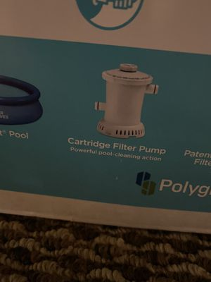 Cartridge Filter Pump (2) for above ground pool for Sale in Pomona, CA