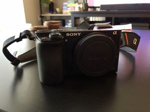 Sony a6000 Camera Bundle (16-50mm +55-210mm) for Sale in Los Angeles, CA