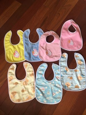 Baby bib - 1 free with purchase or buy all 7 for Sale in Seven Hills, OH