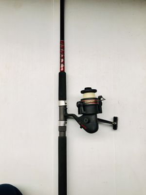 Big game Fishing Rod with Reel for Sale in Glendale Heights, IL