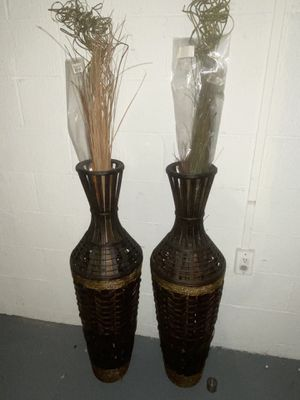 Wood Vase Home Decor for Sale in Columbus, OH