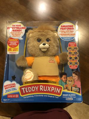 Teddy Ruxpin (storytelling, friendship, magical fun!) for Sale in Fort Worth, TX