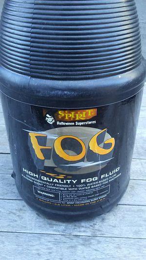 Fog machine fluid for Sale in San Luis Obispo, CA