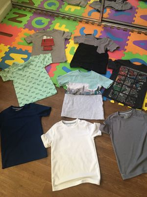 Toddler boy shirts size 4t for Sale in Santee, CA