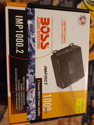 Amplificador 1000 watts Boos for Sale in San Diego, CA