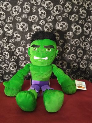 New The incredible hulk plushie buddy for Sale in Albuquerque, NM