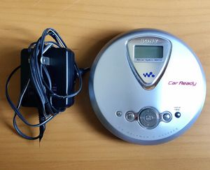 Collectible Sony Portable Walkman CD Player (Discontinued by Manufacturer) with charger and battery operator for Sale in Los Angeles, CA