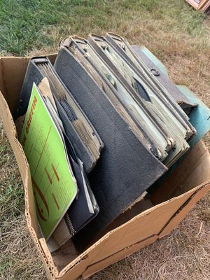 Free box of records for Sale in Sumner, WA