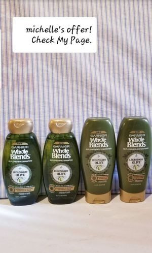 Garnier Whole blends Shampoo& conditioner/Legendary Olive for Sale in Clinton, MD