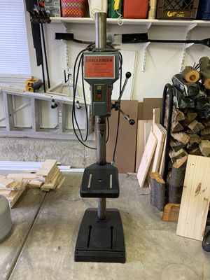 "Challenger 15"" industrial drill press for Sale in Plainfield, IL"