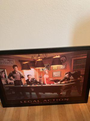 "Wall picture ""Elvis,Bogart,Marilyn,James Dean for Sale in Garden Grove, CA"