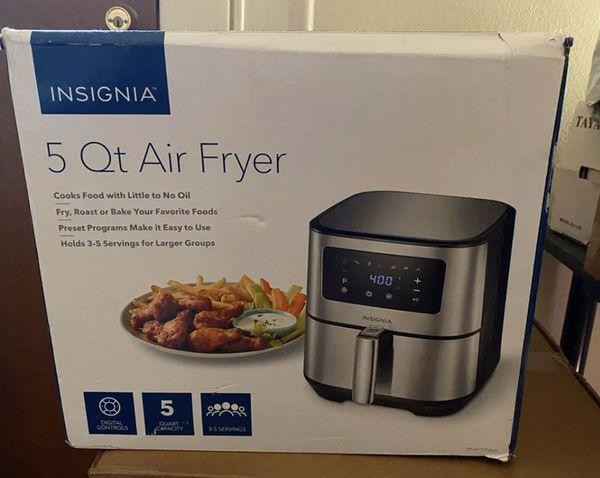 Insignia- 5-qt stainless Digital Air Fryer