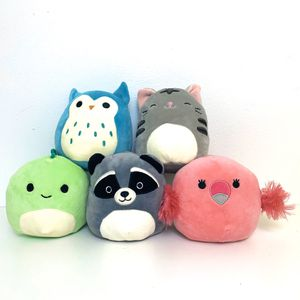"""5 5"""" Squishmallows SUPER SOFT and Clean! There's an Owl, Cat, Bird, Dragon, Raccoon, & a Bird! Squish mallows plush stuffed animals for Sale in Elizabethtown, PA"""
