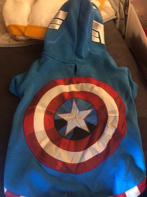 Dog Captain America Hoodie for Sale in Shoreline, WA