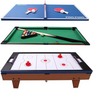 Multi Game Table, 3-in-1 Versatile Game Table for Pool Billiard, Table Tennis & Air Hockey for Sale in Brooklyn, NY