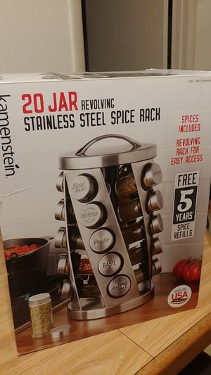 Stainless Steel Spice Rack for Sale in Odenton, MD