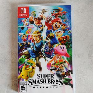 Super Smash Bros. Ultimate-Nintendo Switch for Sale in Redmond, OR
