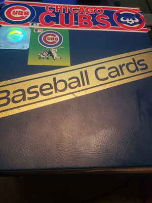 Cubs collection of baseball cards for Sale in Gilbert, AZ