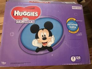Huggies Little Movers Size 3 for Sale in Niederwald, TX