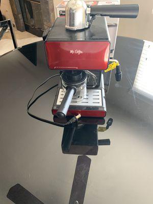 Mr coffee espresso maker for Sale in El Cajon, CA