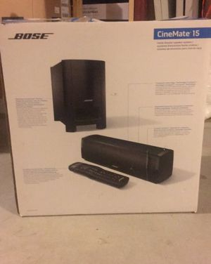 Bose home theater speaker system- brand new for Sale in Stoughton, MA