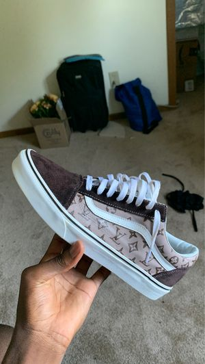 "Vans Old Skool ""Louis Vuitton"" custom for Sale in Canal Winchester, OH"