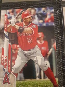 Albert Pujols 2021 Topps Series 1 Baseball Base Card Poster # to 99 for Sale in Fairfax,  VA
