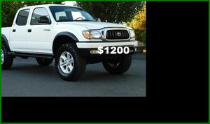 Price$1200 Toyota Tacoma for Sale in Richmond, VA