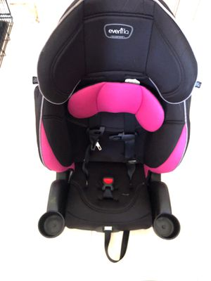 Evenflo booster seat for girl good condition for Sale in Lake Worth, FL