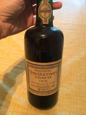Genuine Port wine, 1910 for Sale in Alexandria, VA