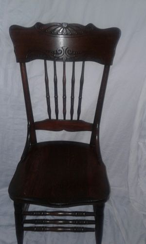 Antique Pressback Chair for Sale in Columbus, OH