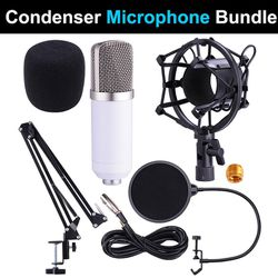 $35 (new in box) condenser microphone bundle mic kit with adjustable suspension arm shock mount pop filter for Sale in Santa Fe Springs,  CA