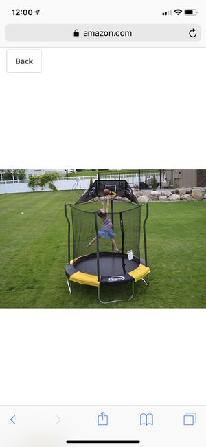 *brand new* Propel 7' indoor/outdoor trampoline with enclosure for Sale in Dublin, OH