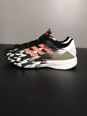 Size 8 - Adidas EF0804 SL20 Mens Running Shoes Core Black Signal Coral New without box for Sale in French Creek, WV