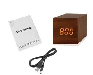 "LED Wooden Alarm Clock Squared 2.4"" for Sale in Huntington Park, CA"