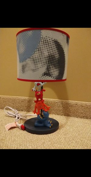 Kid's lamp with base and shade for Sale in Edison, NJ